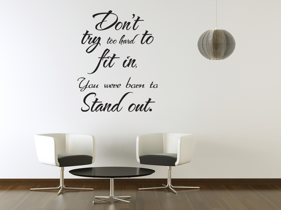Vinyl wall sticker art saying decor decal quote for Decor quotes