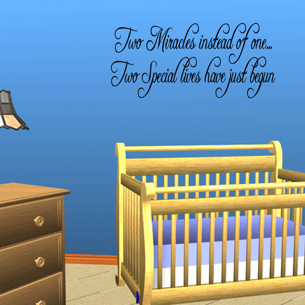 Quote Wall Stickers For Nursery : Wall quotes stickers for nursery decor quotesgram