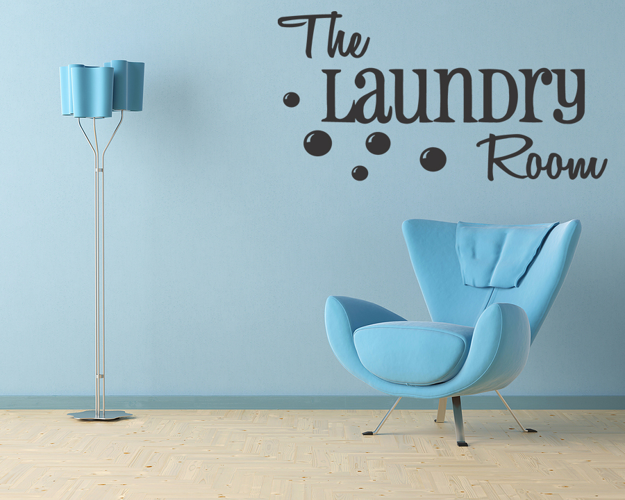 The Laundry Room Vinyl Decal Wall Quote Home Decor Lettering Sticker