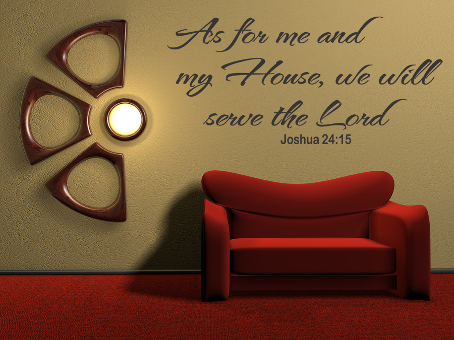 As for Me Vinyl Wall Art Quote Inspirational Decal Sticker ...